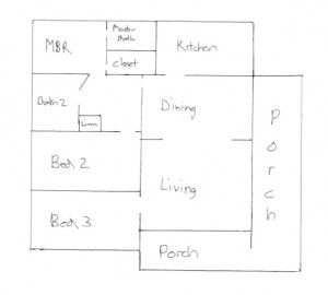 317 W 19th St - Santa Ana, CA | Floorplan