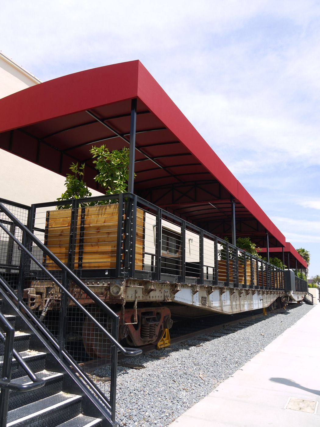 06 Packing House Rail Car - Anaheim Packing District