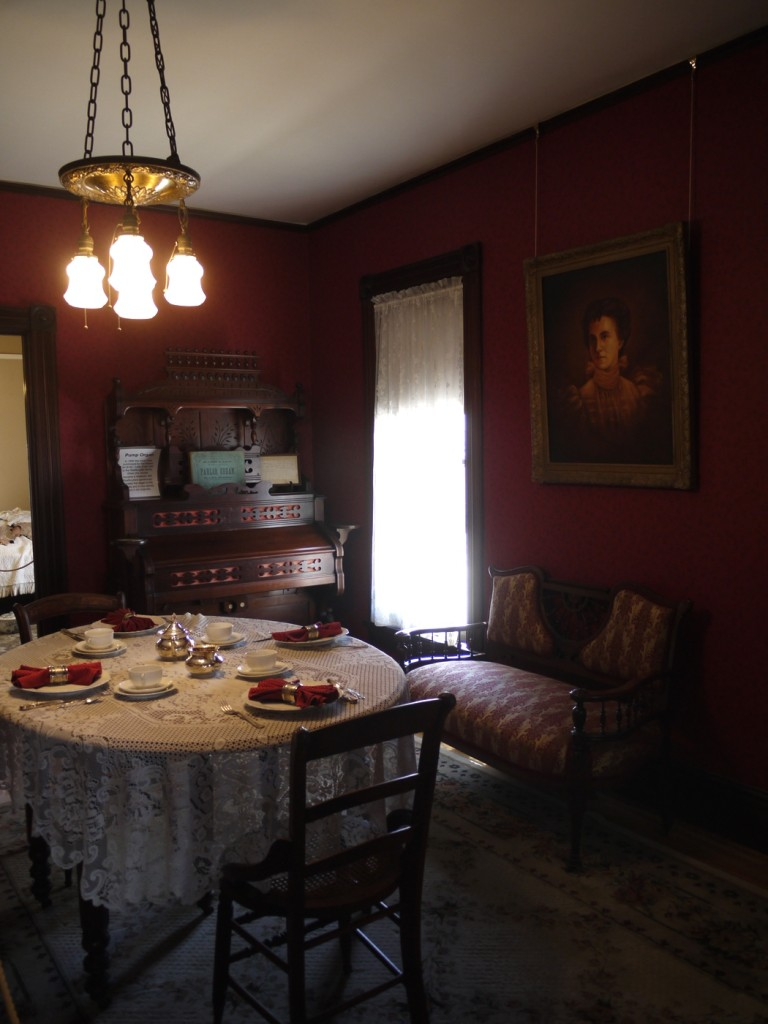 2 Dining Room in Stanley Ware House - Stanley Ranch Museum & Historic Village