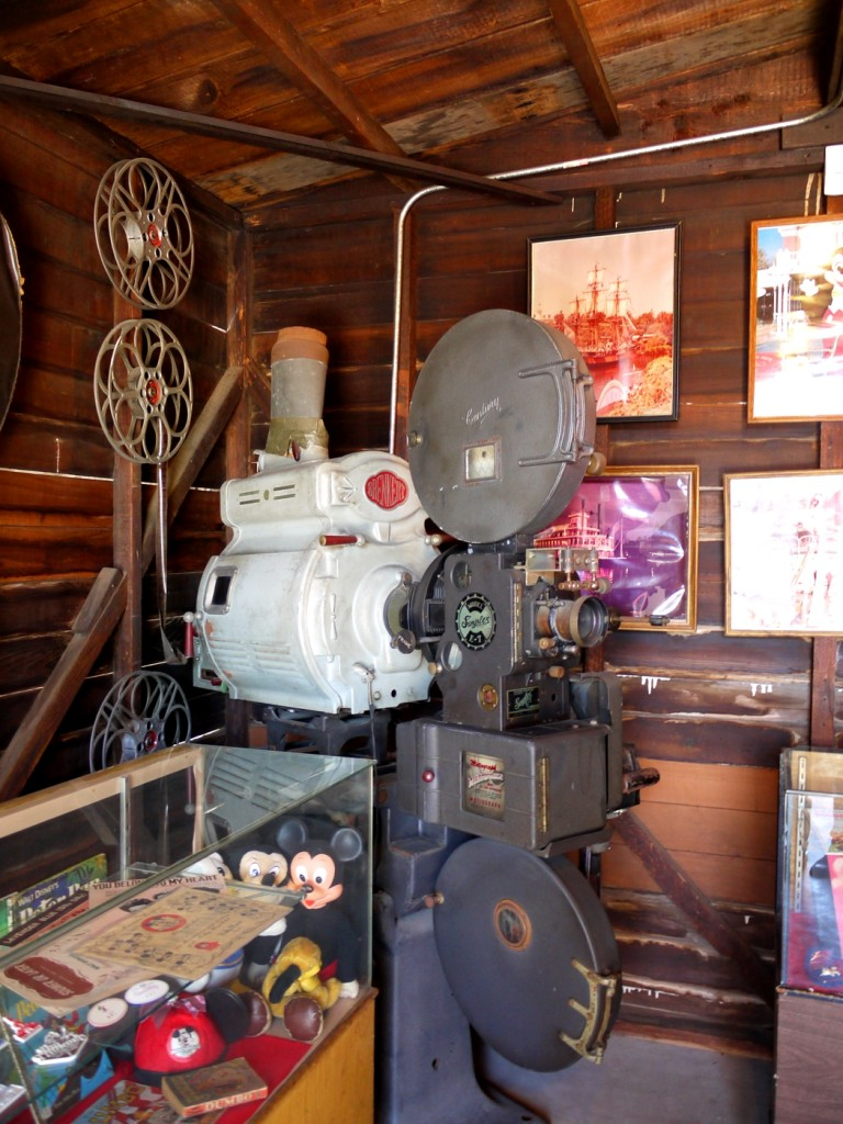 5 Film Projector Inside the Disney Garage - Stanley Ranch Museum & Historic Village