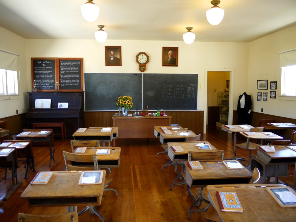 8 School House - Stanley Ranch Museum & Historic Village